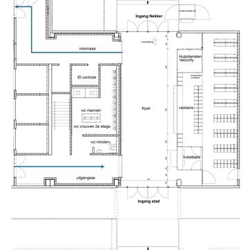 De Loods - Foyer in detail